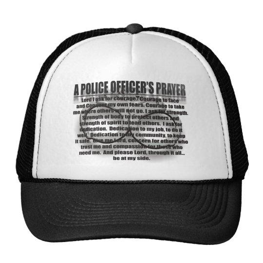 POLICE PRAYER TRUCKER HAT