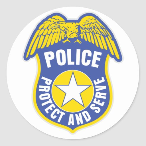 Police Protect and Serve Badge - 47.7KB