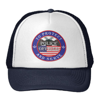 POLICE Protect MASON Trucker Hat