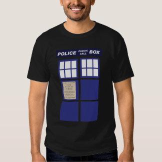 Police Public Call Phone Box Shirt
