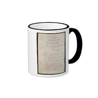 Police Report from the Attendant to Napoleon Ringer Mug