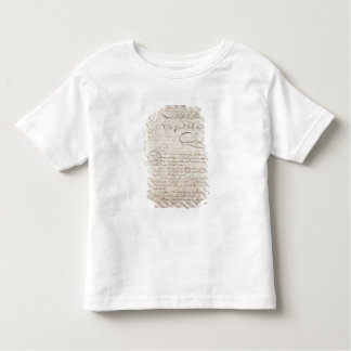 Police Report from the Attendant to Napoleon Toddler T-shirt