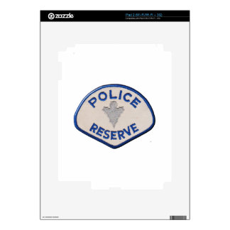 Police Reserve Decal For iPad 2