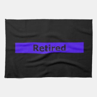 Police Retired Kitchen Towel