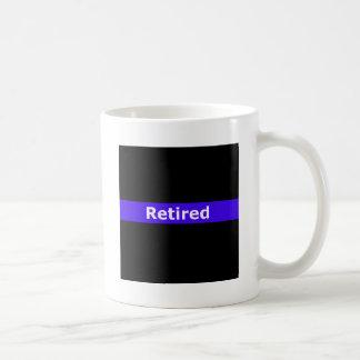 Police Retirted Thin Blue Line Coffee Mug