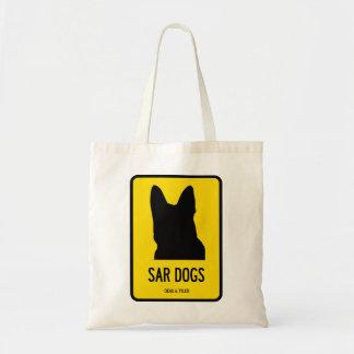 Police/Sar/Army Dogs Tote Bag