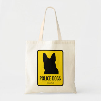 Police/Sar/Army Dogs Tote Bags