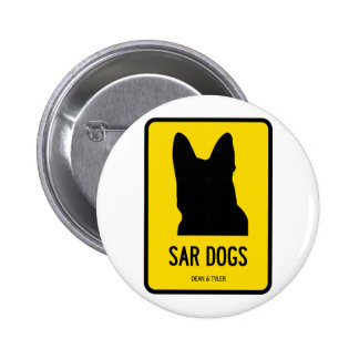 Police/Sar/Army Dogs Pinback Buttons