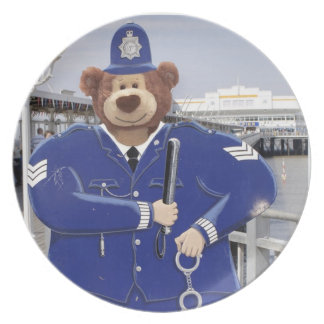 Police Sargeant T Bear Plate