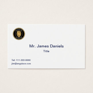 Police Sergeant Badge Universal Business Card