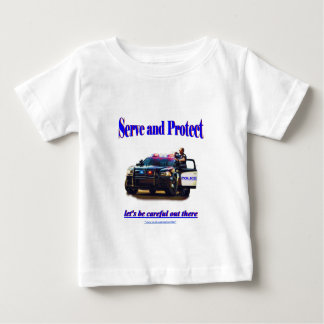 Police Serve and Protect Baby T-Shirt