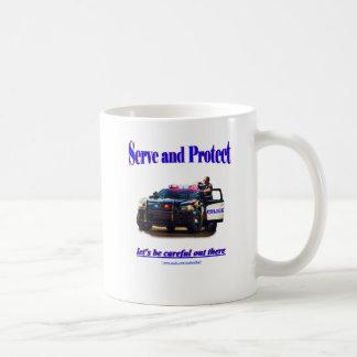 Police Serve and Protect Coffee Mug