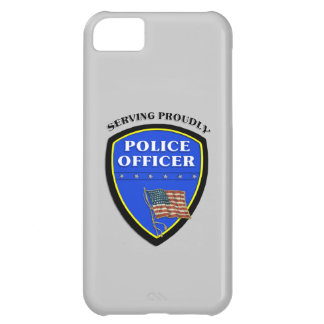 Police Serving Proudly Case For iPhone 5C
