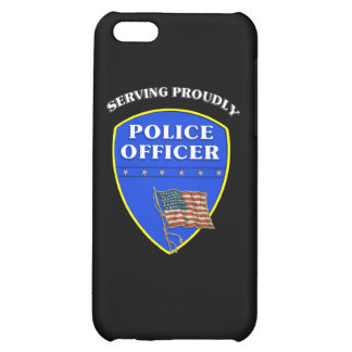Police Serving Proudly Cover For iPhone 5C