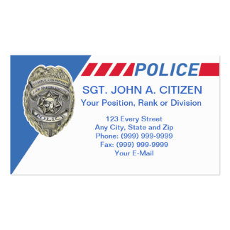700 For Police ficers Business Cards and For Police