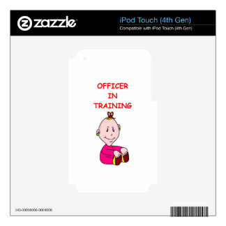 police iPod touch 4G skin