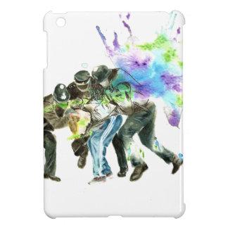 police splatter iPad mini cases