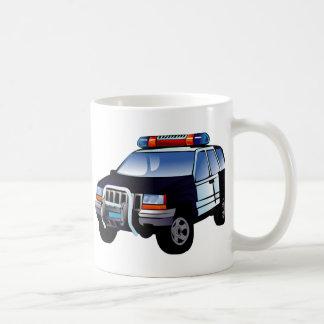 Police Sport Utility Vehicle (SUV) Coffee Mug
