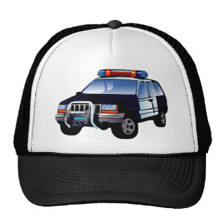 Police Sport Utility Vehicle (SUV) Trucker Hat