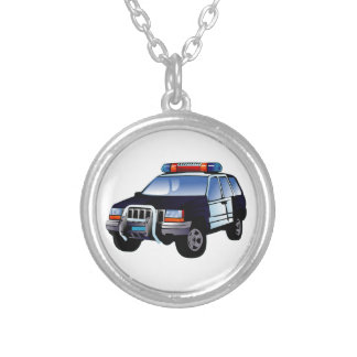Police Sport Utility Vehicle (SUV) Necklaces