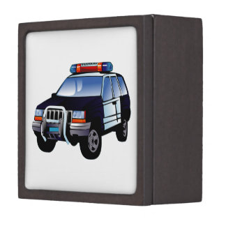 Police Sport Utility Vehicle (SUV) Premium Gift Box