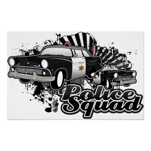 Police Squad Poster