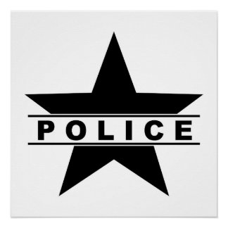 police department posters zazzle