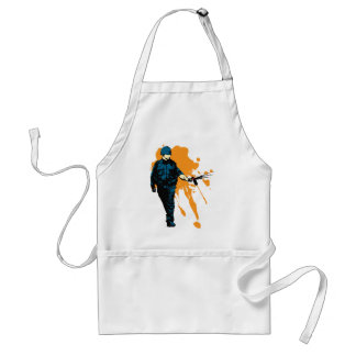 Police State - Pepper Spray Adult Apron