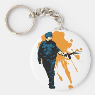 Police State - Pepper Spray Keychain