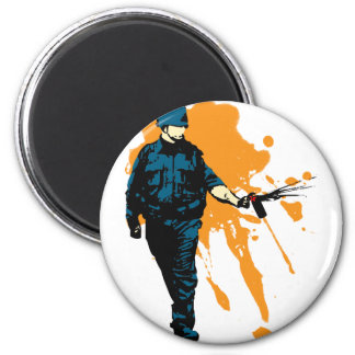Police State - Pepper Spray Magnet