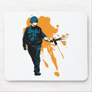 Police State - Pepper Spray Mouse Pad