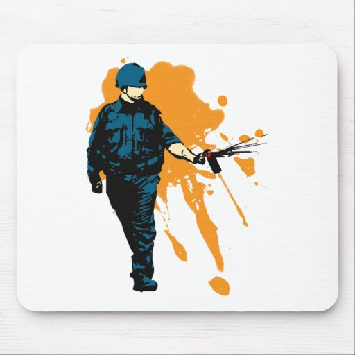 Police State - Pepper Spray Mouse Mats