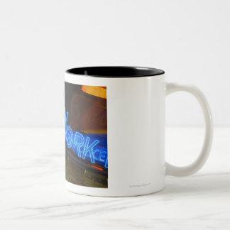 Police Station Two-Tone Coffee Mug