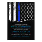 Police Style American Flag Party|Event Invitation