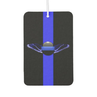 Police Supporter Thin Blue Line Air Freshener