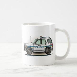 Police SUV Cruiser Car Cop Car Coffee Mug