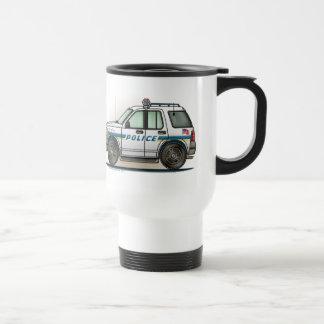 Police SUV Cruiser Car Cop Car Travel Mug