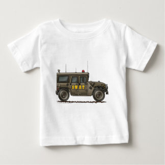 Police SWAT Team Hummer Law Enforcement Baby T-Shirt