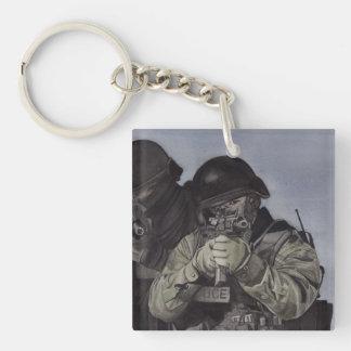 Police/SWAT Team Keychain