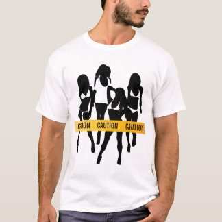 Police Tape - CAUTION T-Shirt
