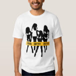 Police Tape - CAUTION T-shirts