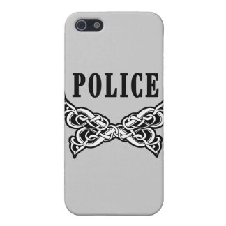 Police Tattoo Case For iPhone SE/5/5s