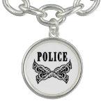 Police Tattoo Charm Bracelets