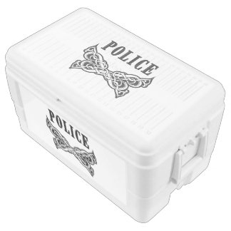 Police Tattoo Chest Cooler