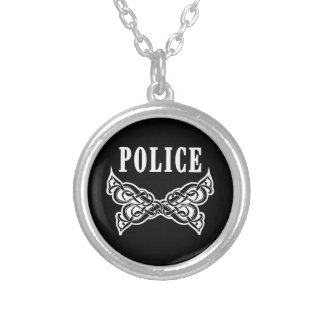Police Tattoo Pendant