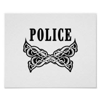 Police Tattoo Poster