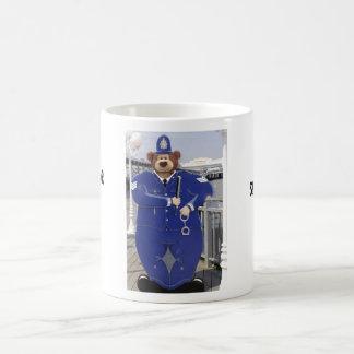 Police Teddy Bear Mug