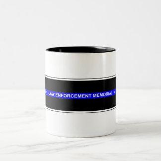 """Police """"The Blue Line Memorial"""" Mug"""