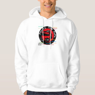Police the PoPo anti Stop and Frisk Design Hoodie