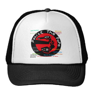Police the PoPo anti Stop and Frisk Design Trucker Hat